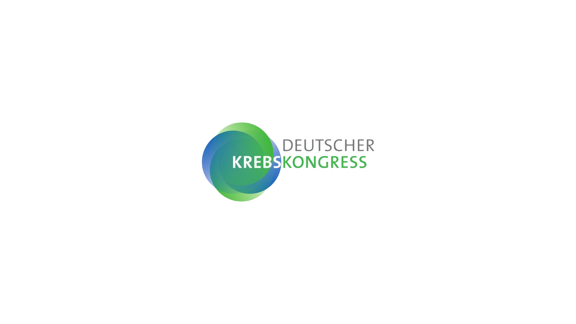 Deutscher Krebskongress Referenz Logo